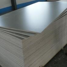 Grey color Matt design HPL Formica faced Plywood