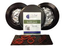 Dry Flush 3-Pack Refill Cartridges