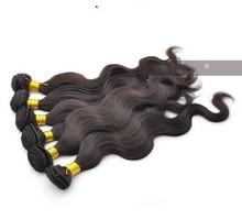 "brazilian Virgin Hair Extensions Human Hair Weft More Wave 1pcs/Lot 8""-40"" Unprocessed Hair"