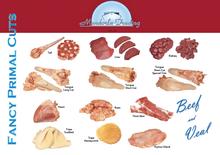 beef/veal fancy primal cuts
