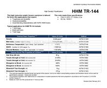 HHM TR 144