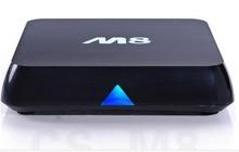 Pre-installed EM8 Android 4.4 KitKat TV Box M8 Amlogic S802 Quad Core Media Player 2G/8G Dual WiFi 4K HDMI BT 4.0