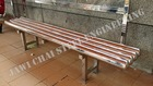 Stainless Steel Bus Stop Bench