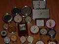 Antigos relógios de alarme peças para todos os modelos russo, polonês, alemão. Trinta peças.