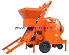20-25 m3/hr Mobile Automatic Self Loading Concrete Mixer with High Quality