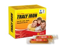 TRALY IRON Oral tubes - Dietary supplement, Blood Tonic, Iron Supplements for pregnant women