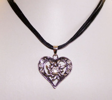 Dirndl Necklace / Bavarian Jewelry / Oktoberfest Bavarian Necklace(chain necklace)