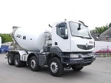 Renault Kerax 410 8X4 Cement Mixer Truck (Left Hand) - Internal stock No.: 11264