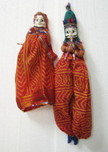 Rajasthani Puppet For Dance Show Puppet Couple