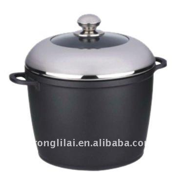 die cast aluminum stockpot casted stockpot aluminum cooking pot view aluminum stockpot rongli