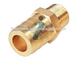 1/8'' Brass Male Hose Nipple