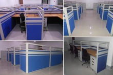 Office Partition Bullet type, P3 series Low partition and floor to ceiling Partition