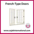 uPVC French-type Doors