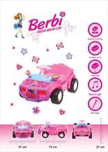 KIDS RIDE-ON TOYS BERBI BOOM BOOM CAR 605