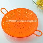 food grade silicone basket kitchen strainer
