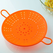 food grade silicone basket kitchen strainer