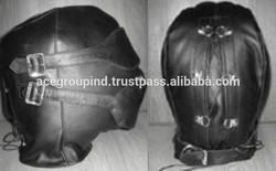 Latexmaske Haube red hood mask leather hood mask latex mask hood fa