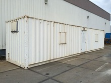 40' container field clothes washing & drying complete plant.