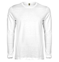 single jersey mens long sleeve t-shirt manufacture in Bangladesh