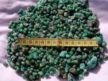 Emerald small & medium size, rough bead tumble grades rich color 100% natural swat region north Pakistan. weight= 15 kgs