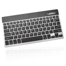 Universal Wireless Bluetooth Aluminium Ledeli Keyboard for Tablet, Smartphone, PC