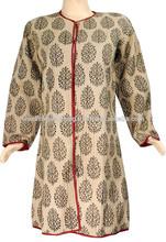 Vintage Kantha Jackets for Women, Cotton Kantha Coats