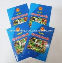 Design custom text book/note book/ guidebook printing company