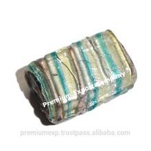 Wholesale Silver Foil Lampwork Fancy Glass Beads, Murano Glass Beads