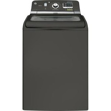 Washing Machines 5.0 Doe Cu. ft. Washer with Steam in Metallic Carbon, GHWS8355HMC