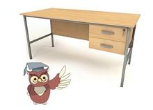 Teachers/Office 2 draw desk