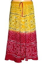 Cheap Prices Best Quality Ethnic Indian Long Bandhani Skirts