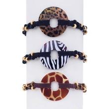 Animal Print Shell Bracelet