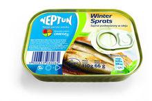 WINTER sprats - smoked sprats in oil