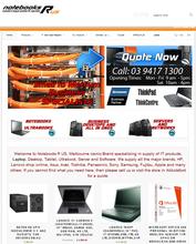 Computer Shop Ecommerce Website Design and Development