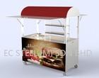 Burger Cart - KS - 11589A Kiosk & Stall