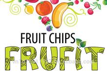Vacuum fried fruit chips FRUFIT TM