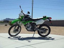 Brilliant Used 2010 Kawasaki KLX250S for Sale