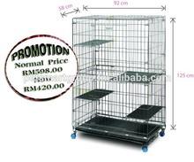 Ultra Foldable Premium Cat Cage (extra large) FSCC-4