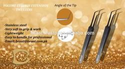 90 degree angle volume eyelash extension tweezers 90 degree tweezers for volume eyelash extension
