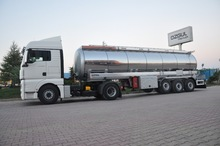 BITUMEN (INSULATION)TANKER SEMI TRAILER