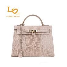 New latest Korean fashion designer name brand LOVELYHEART bag for ladies LH-9074 tote & messenger