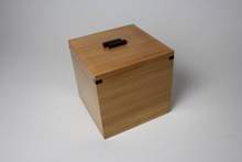 Japanese cedar handmade beautiful grain small wooden box for gifts , jewelry , small product display