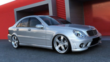 MERCEDES C CLASS W203 (2000-2007) AMG DESIGN FULL BODY KIT