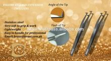 L Shape Tweezers for Volume Lashes Eyelash Extension Tweezers