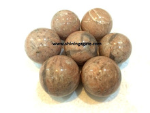 Pink Moonstone Balls: Wholesale gemstone balls spheres
