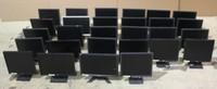 "Bulk tested LCD monitors. Wholesale screens 17"" 19"" 20"" 22"" 24"" lot"