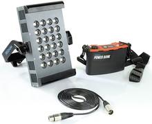 PROAIM Aura 2412 Led Light with Power Bank (AURA-2412-PB)