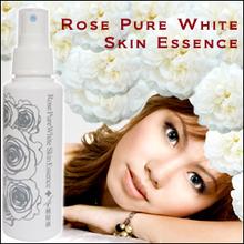 Natural organic cosmetics The white rose liquid cosmetics very precious essence