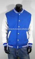 Custom Blue and White Varsity Jacket