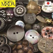 Fashionable and High quality custom printed button with original made in Japan